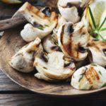 Рецепт Грибы на гриле с беконом
