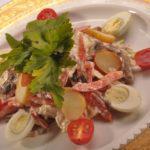 Рецепт Салат из свежих грибов