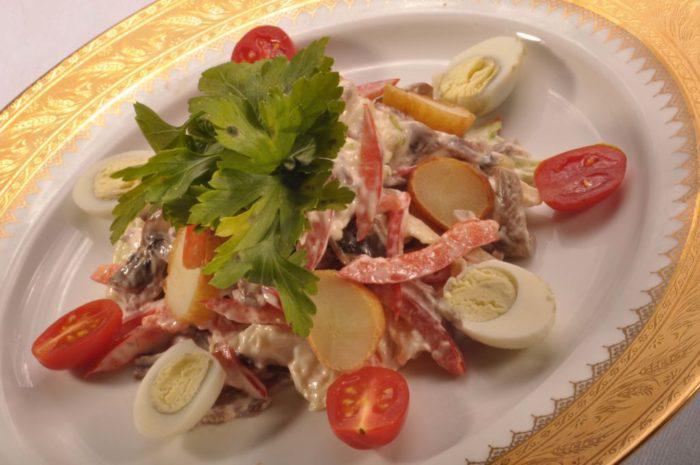 Рецепт салата баярский фото