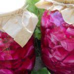 Рецепт Яркая капуста на зиму