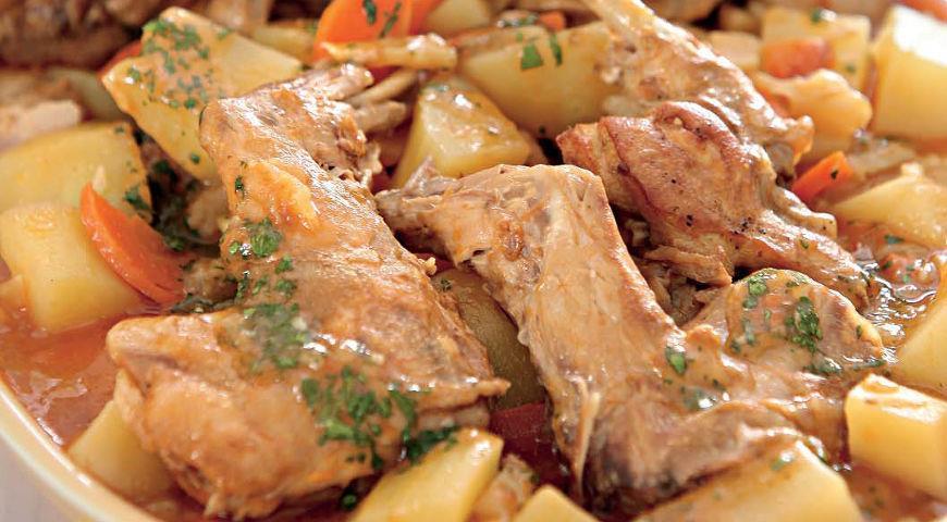 Пошаговые рецепты приготовления кролика с