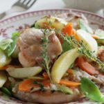 Рецепт Кролик, запеченный с овощами