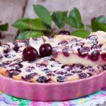 Рецепт Пирог манник с вишней