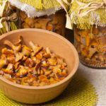 Рецепт Маринованные лисички