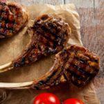 Рецепт Мясо на косточке на гриле