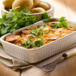 Рецепт Несладкий «кекс» из картошки с сыром