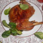 Рецепт Ножка кролика с чесночным ароматом