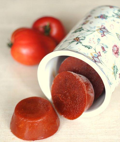 На фото Быстрое томатное пюре