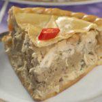 Рецепт Пирог из кролика с паштетом