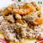 Рецепт Пшеничная каша с мясом в мультиварке