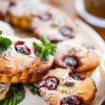 Рецепт Творожные кексы с вишней