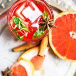 Рецепт Пряный грейпфрутовый сок