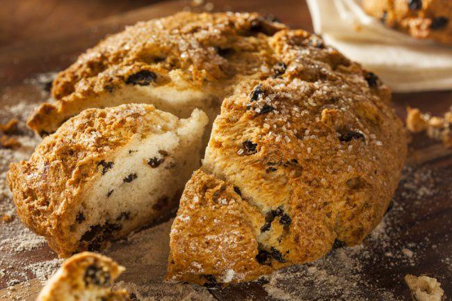 На фото Как испечь хлеб по-ирландски