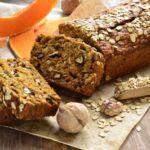 Рецепт Рецепт домашнего хлеба без дрожжей с тыквой и зеленым луком