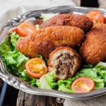 Рецепт Котлеты из индейки по-арабски «Куббе»