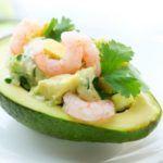 Рецепт Лодочки авокадо с креветками