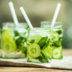 Рецепт Лаймово-огуречный лимонад в домашних условиях