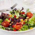 Рецепт Быстрый овощной салат проще простого