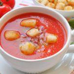 Рецепт Гаспачо (томатный крем-суп)