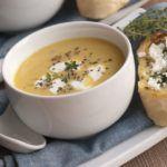 Рецепт Диетический крем-суп из белой фасоли