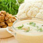 Рецепт Куриный крем-суп из цветной капусты (велюте)