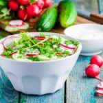 Рецепт Просто салат из огурцов с редисом