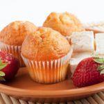 Рецепт Творожные кексы в формочках