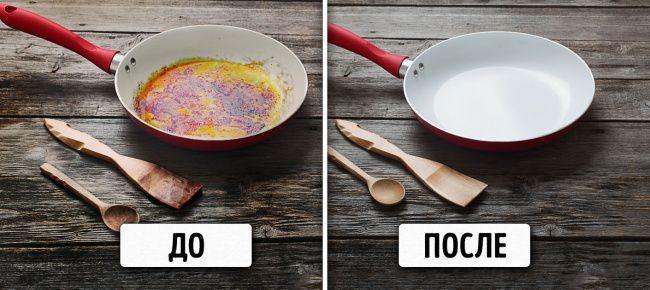 На фото 14 простых способов сделать вашу кухню чище