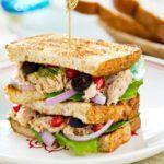 Рецепт Простые праздничные бутерброды с рыбой