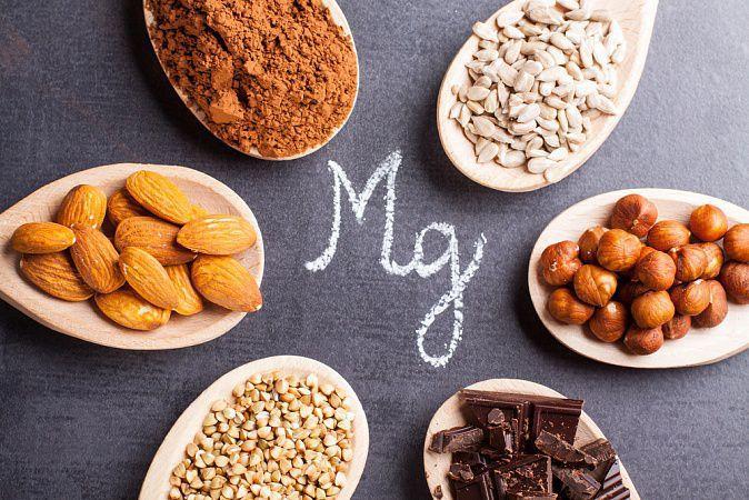 На фото Магний в продуктах вегетарианского и веганского питания
