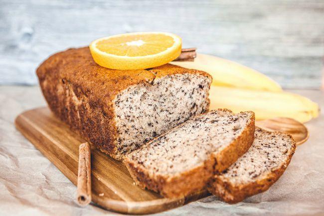На фото Печем хлеб в духовке (с апельсиново-кокосовым вкусом)