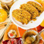 Рецепт Вегетарианский тыквенный хлеб без дрожжей в домашних условиях