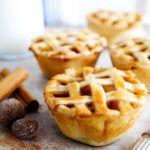 Рецепт Маленькие вкусные кексы с начинкой из яблок