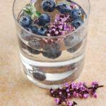Рецепт Любимый напиток из черники и лаванды