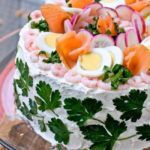 Рецепт Мужской торт в стиле сэндвич