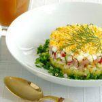 Рецепт Вкусная окрошка на квасе (рецепт классический)