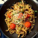 Рецепт Вкусная паста с томатами