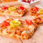 Рецепт Тонкая пицца-брускетта