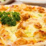 Рецепт Домашняя пицца в духовке с жареной курицей