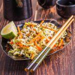 Рецепт Салат из редьки с яблоком и морковью