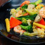 Рецепт Очень вкусный салат с креветками и брокколи