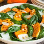 Рецепт Салат со шпинатом и тыквой