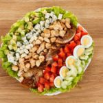 Рецепт Традиционный американский салат кобб (рецепт салата с куриной грудкой)