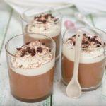 Рецепт Нежнейший шоколадный мусс в домашних условиях