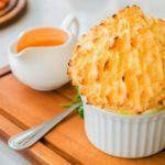Рецепт Сырное суфле в духовке