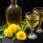 Рецепт Крепкое вино из одуванчиков