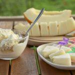 Рецепт Простое мороженое из дыни
