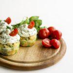 Рецепт Испанская фриттата в духовке со шпинатом и сыром