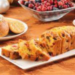 Рецепт Домашний хлеб в духовке с медом, клюквой и портвейном