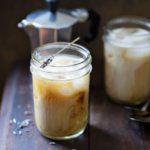 Рецепт Холодный кофе с лавандой (раф-кофе)